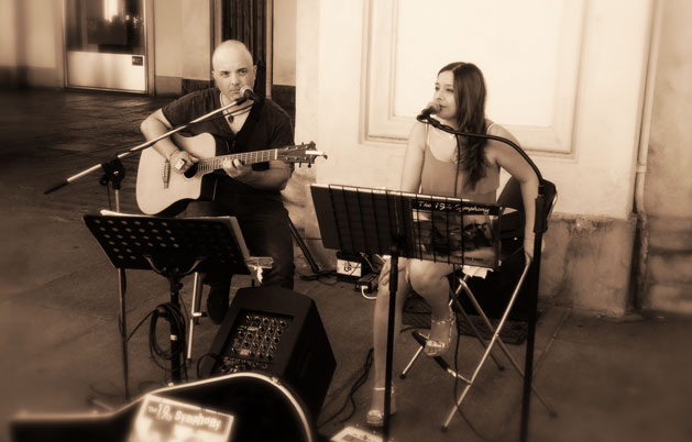 The 19th Symphony_Duo acustico chitarra e voce